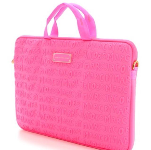 "MARC JACOBS 15"" laptop bag - PINK"