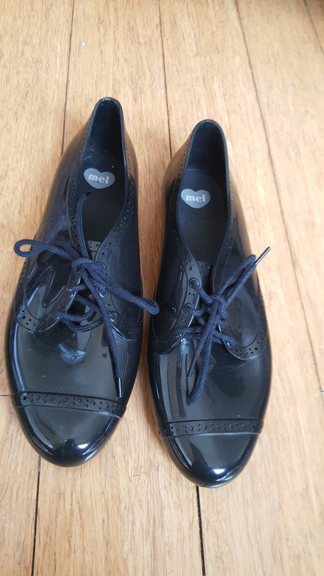 Mel by Melissa jelly Oxford shoes size 7us