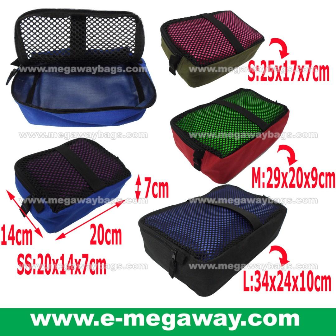 #Mesh #Hiker #Camper #Backpacker #Jogger #Trekker #Hiking #Camping #Jogging #Trekking #Picnic #Sports #Bag #Kits #Organizer #Amenity #Underwear #Wear #Trip #Travel #Holiday #Fly #Air #Travel #Megaway @MegawayBags #MegawayBags #CC-1188-7529D-Black-L