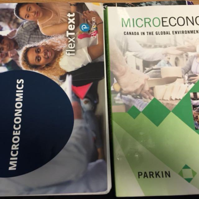 Microeconomics textbook 9th edition + flextext