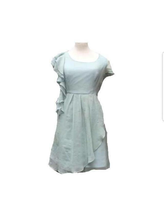 Mint chiffon dress size S