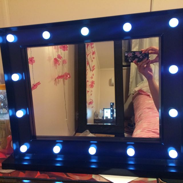 Mirror with LED Lights