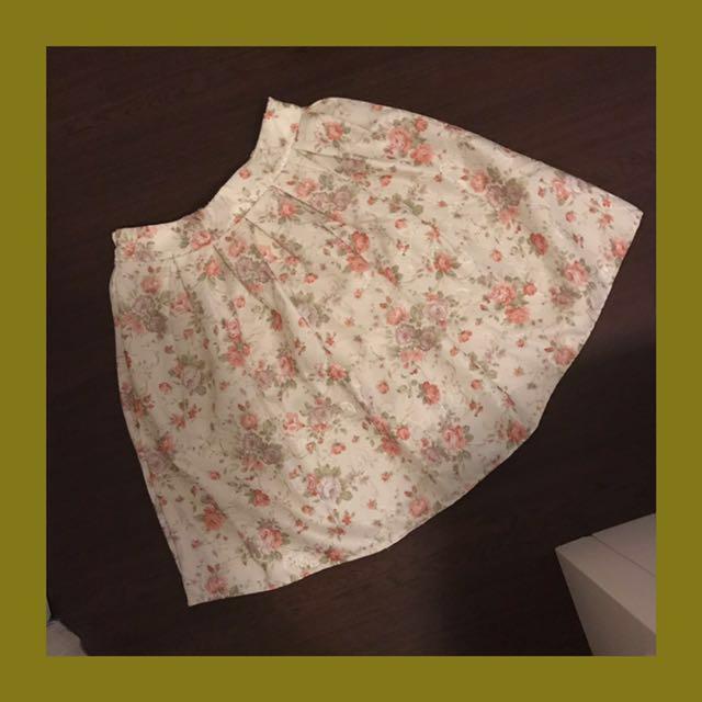 Monaco Floral Skirt