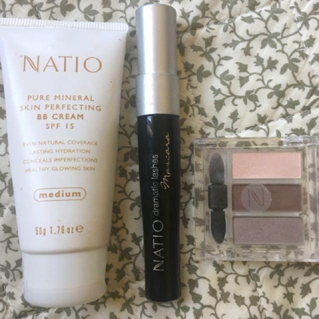 Natio makeup basics set