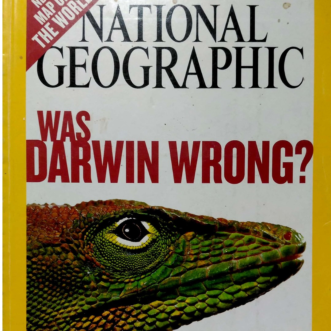National Geographic : Was Darwin Wrong (Issue November 2004)