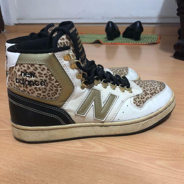 new balance leopard print