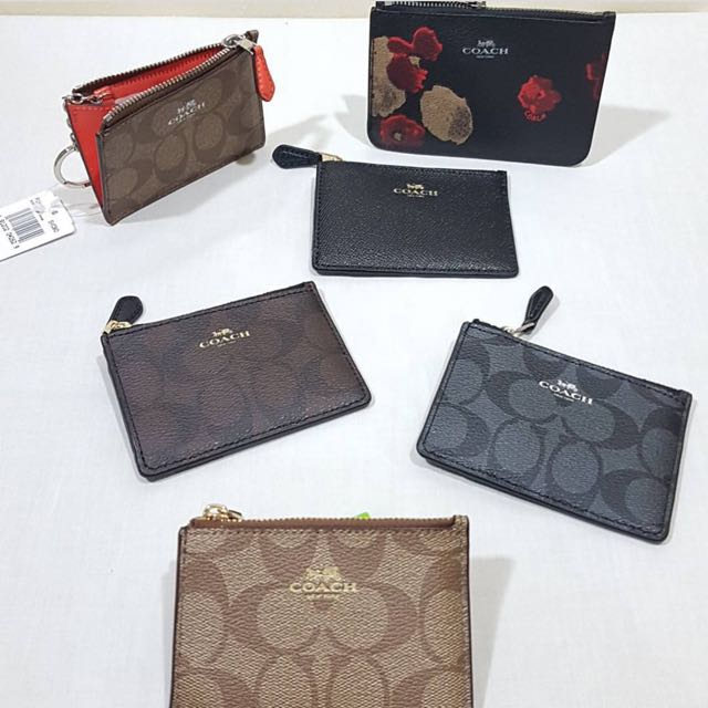 New coach coin wallet key