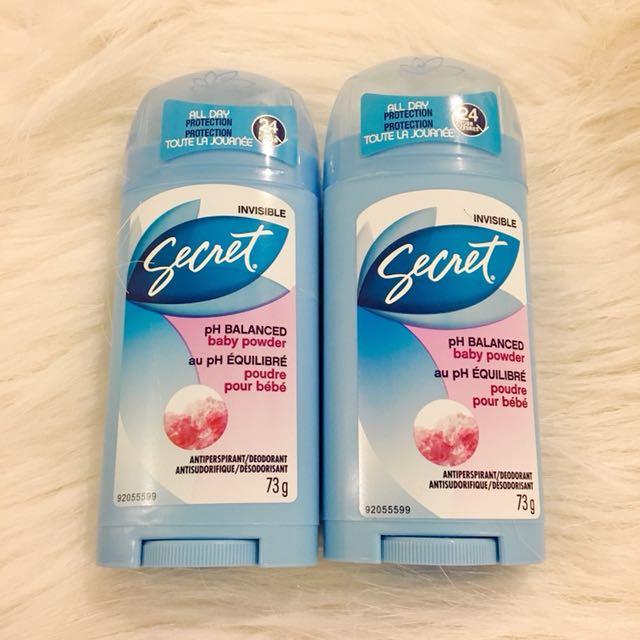 New Deodorants