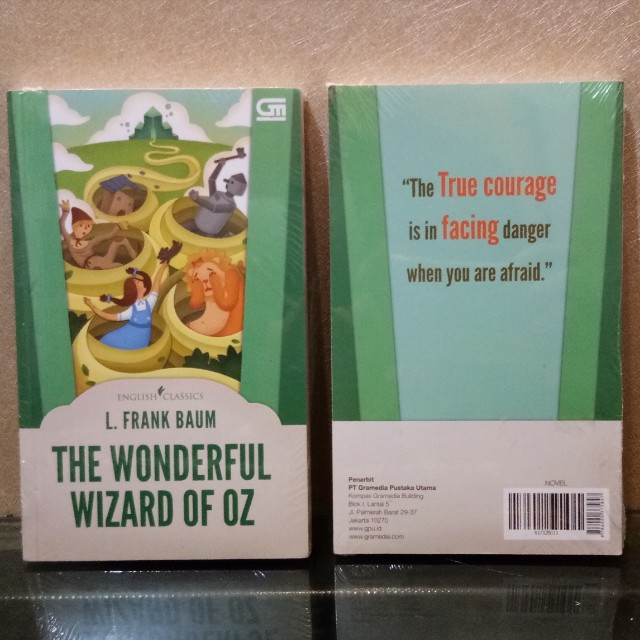 NEW English Classic Novel: The Wonderful Wizard of Oz - L. Frank Baum