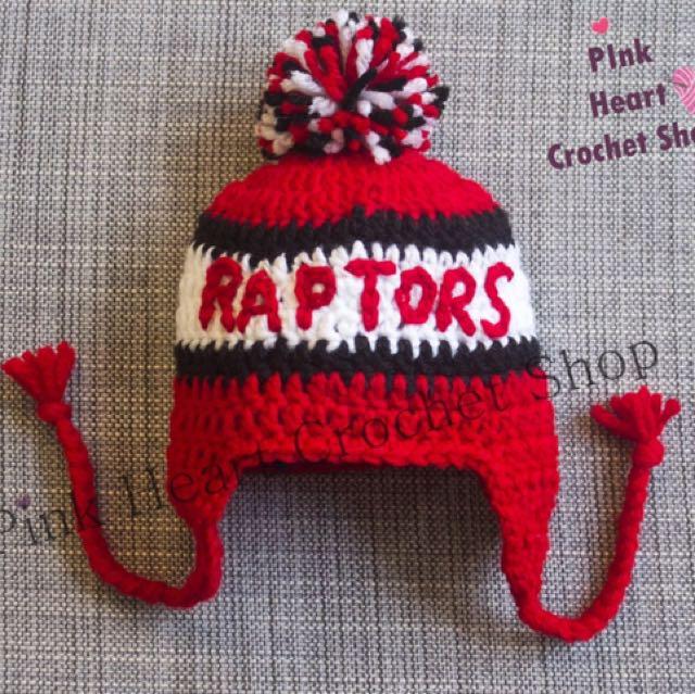 New handmade Raptors hat