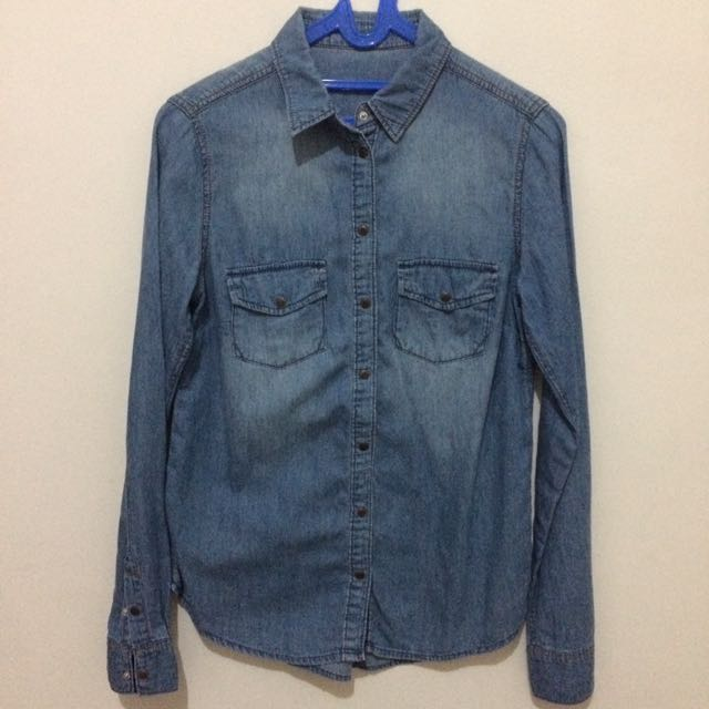 New Look's denim shirt