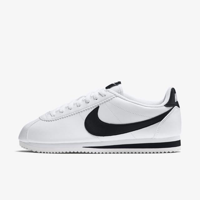 全新Nike Cortez basic LEATHER 819719-100 阿甘鞋