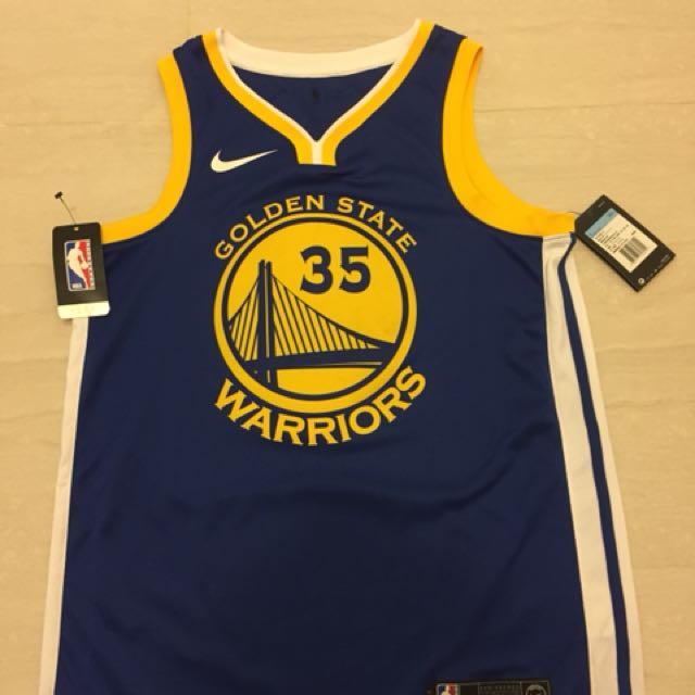 Nike KD球衣 35號勇士隊 M號