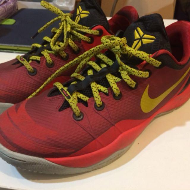 二手Nike Kobe毒液系列4代馬年配色US9.5
