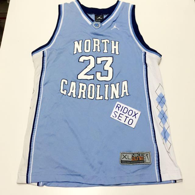 deaa4b64d26a0b Nike Michael Jordan UNC 北卡Basketball Jersey Youth sz XL