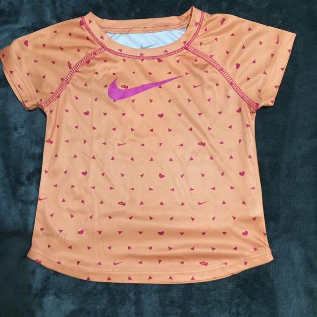 Nike Orange DeiFit Shirt 2T