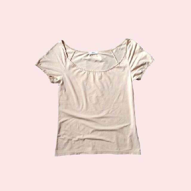 Nude Basic Fitted Shirt