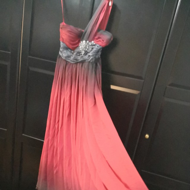b64269fbb1 Ombre toga evening dress, cheap!!!, Women's Fashion, Clothes ...
