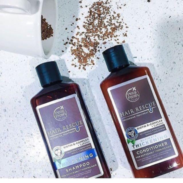 Petal fresh shampoo thickening