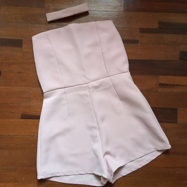 Pink Romper (with or without choker)