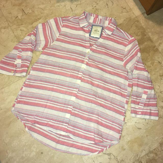 Pink Stripes Shirt