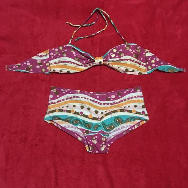 Pink Two Piece Bikini