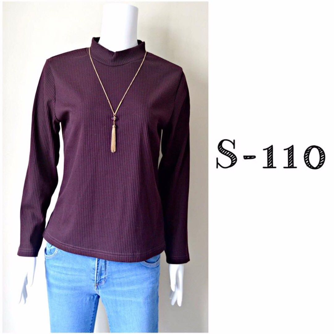Plain Maroon Sweater