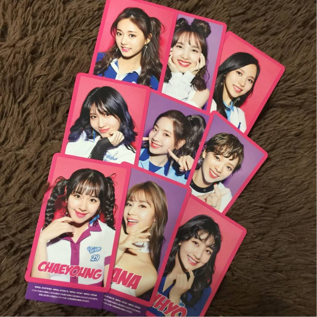 Po Share Twice One More Time Album Photocard Entertainment K