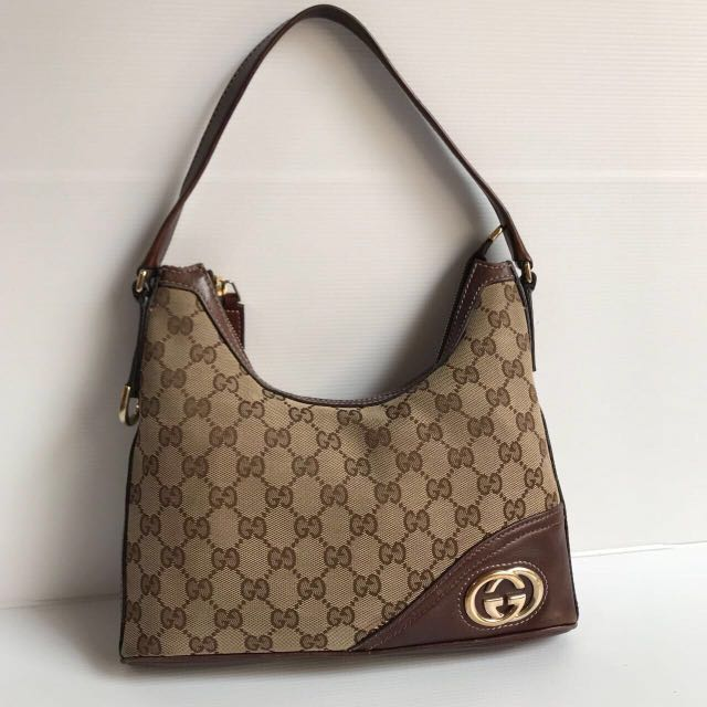 Preloved authentic gucci hobo