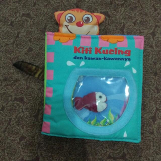 #ImlekHoki [Preloved] Soft book Buku Bantal Kiti Kucing