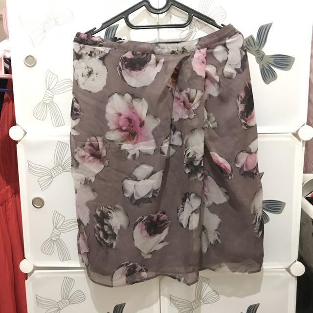 Premium skirt - blossom flower