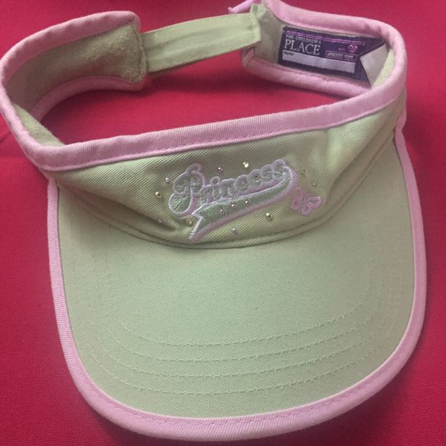 Princess Visor (Green and Pink with Gems)