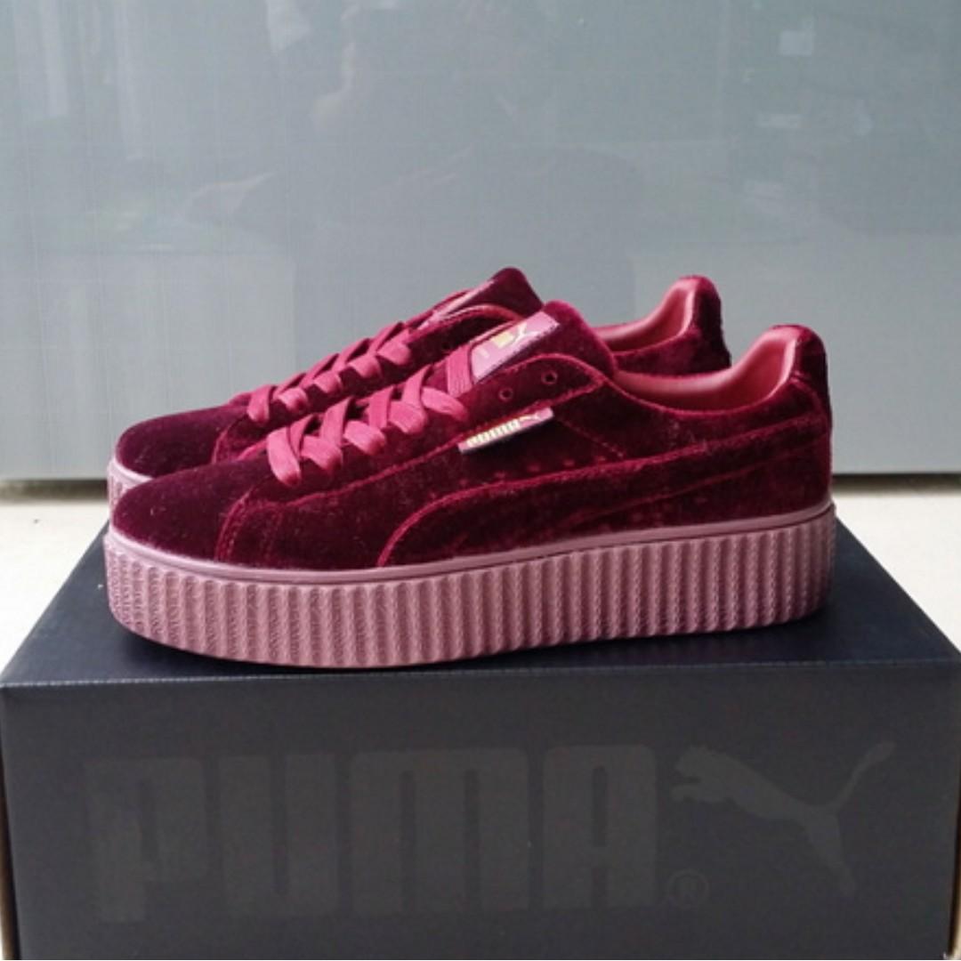 ac8213796b red fenty sneakers