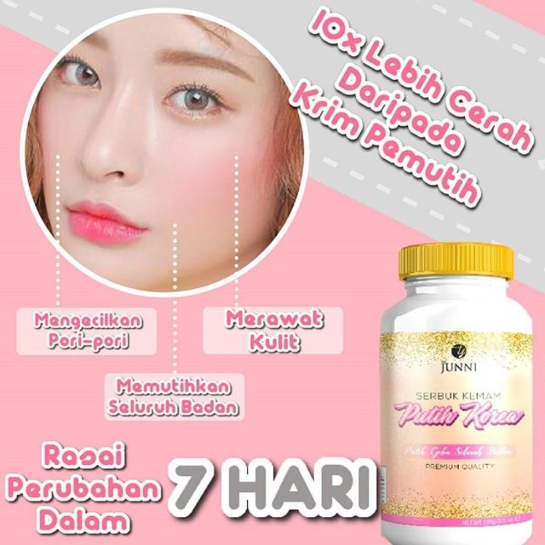 Putih Korea The Junni Health Beauty Skin Bath Body On Cream Pemutih Badan Gold Carousell