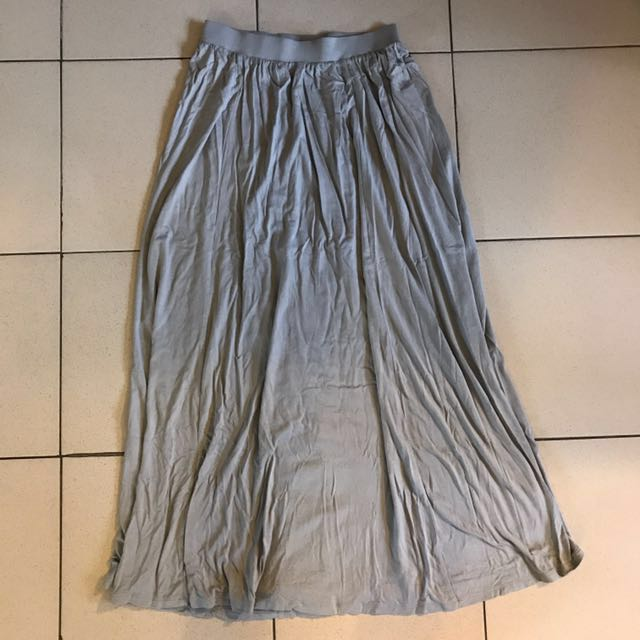 [Reduced] Grey maxi skirt