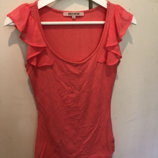 Review frill singlet size 6