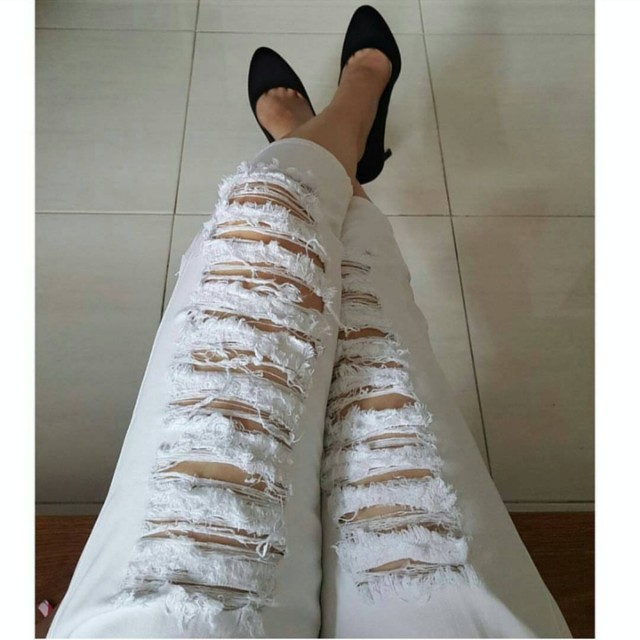 Ripping Chief Ripped Jeans 3/4