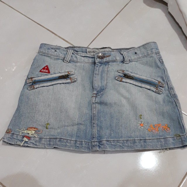 Rok denim anak