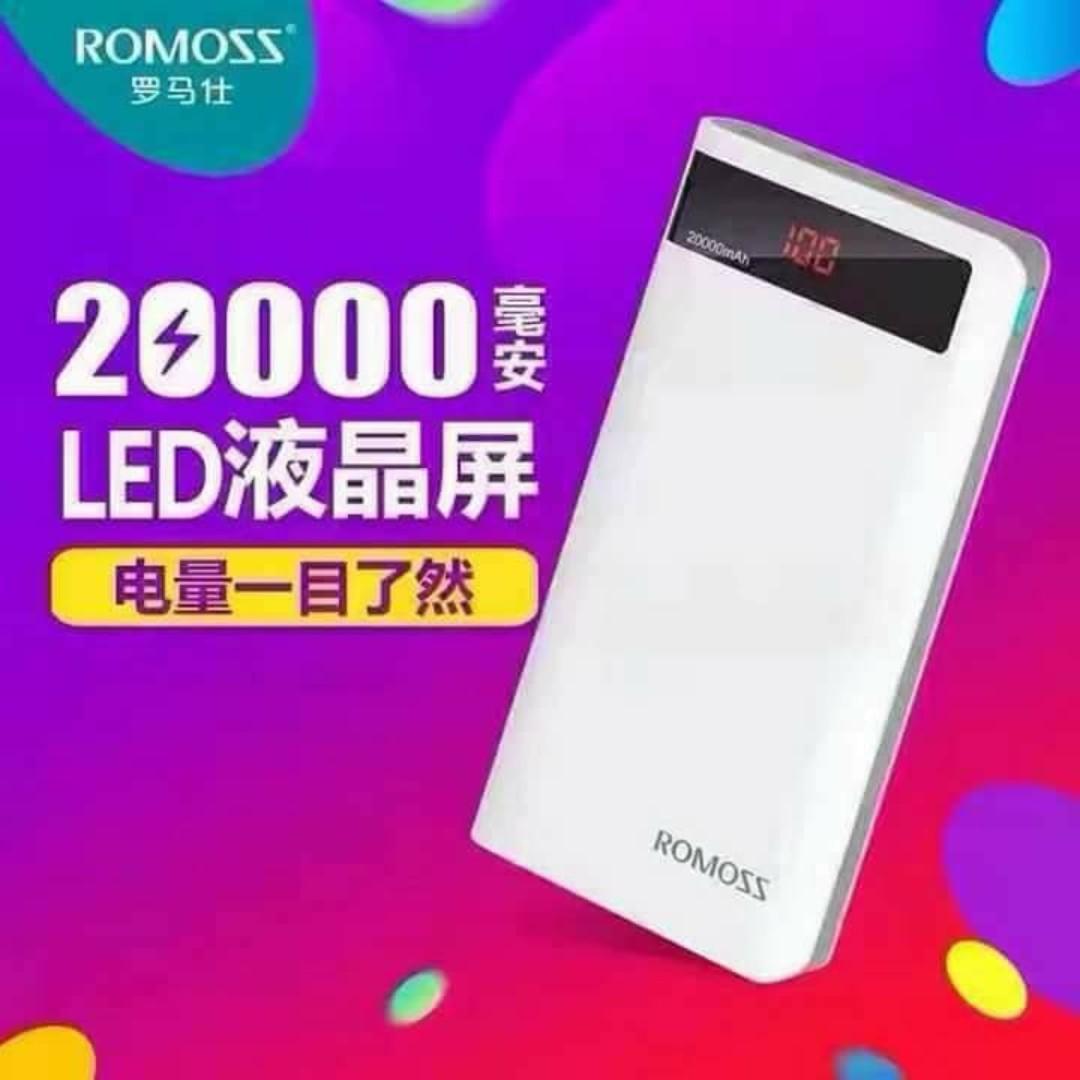 Romoss Sense 6P 20000 mAh Powerbank Origina