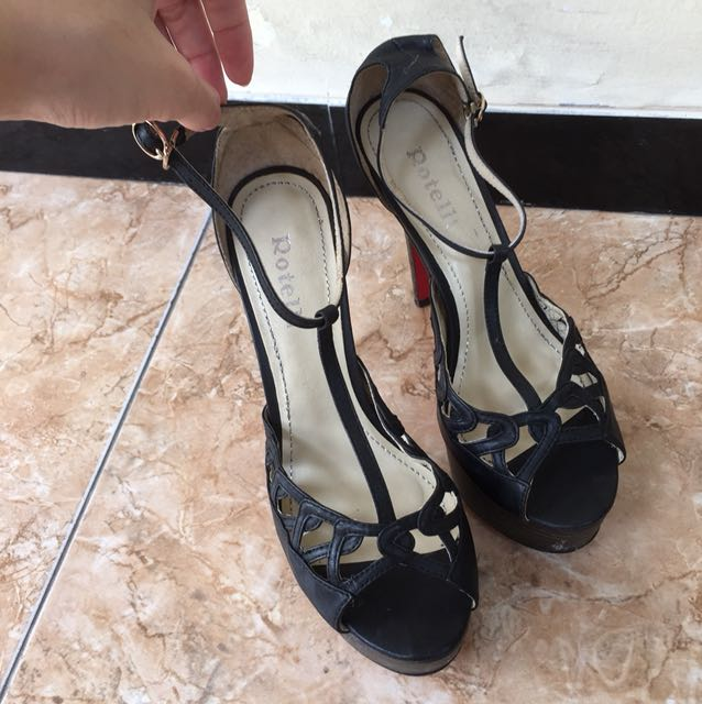 Rotelli shoes black