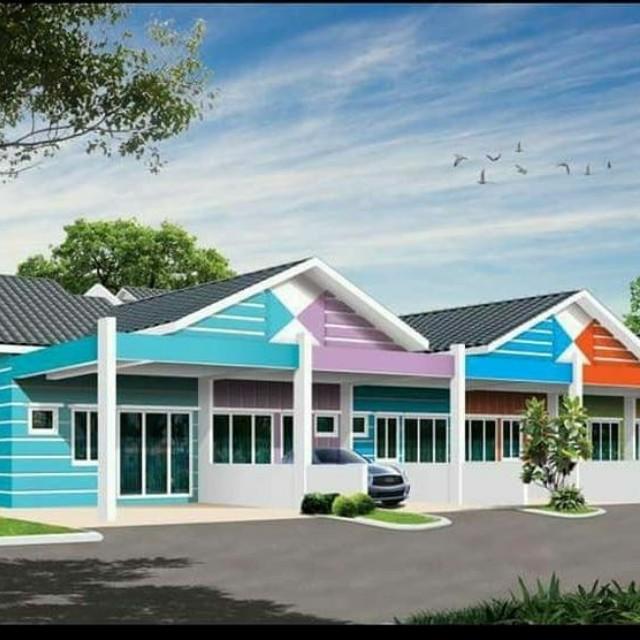Rumah Teres Satu Tingkat For Murah Mampu Milik Property On Carou