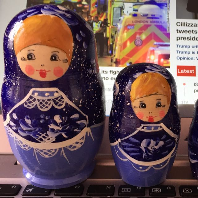Russian doll - 5 pieces