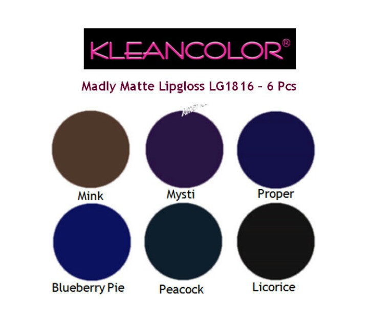 SALE! Kleancolor Madly Matte Lipgloss in Licorice
