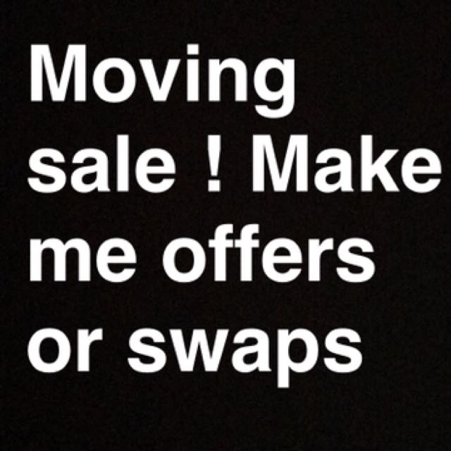 Sale time ! Swaps available