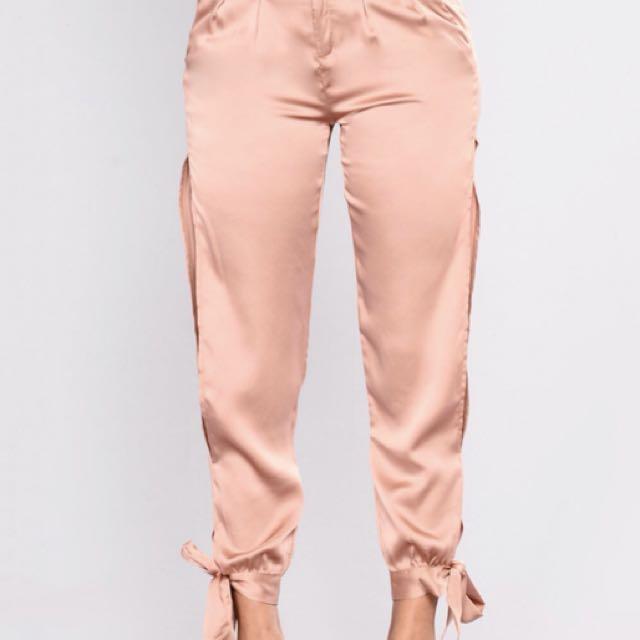 Satin Pants [L]