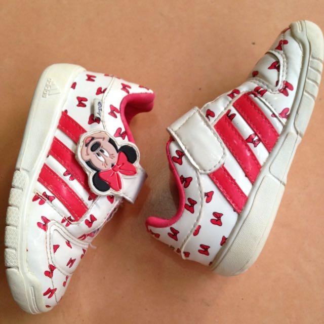 Sepatu Adidas Disney Minnie Original