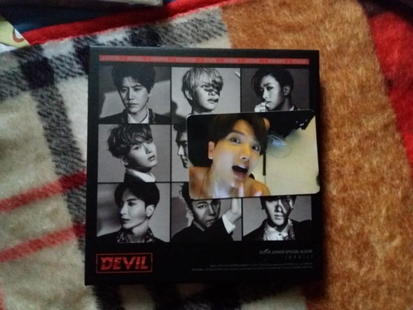 [SET LENGKAP] DEVIL - Super Junior