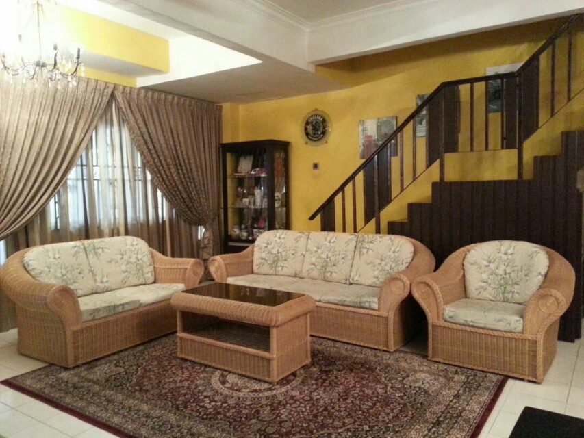 Set Sofa Rotan Home Furniture Furniture On Carousell