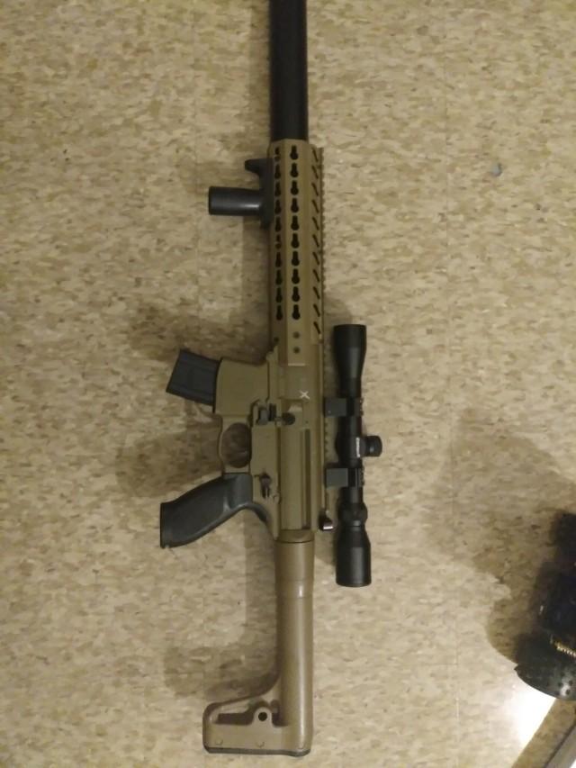 Sig Sauer mg co2 powered pellet gun