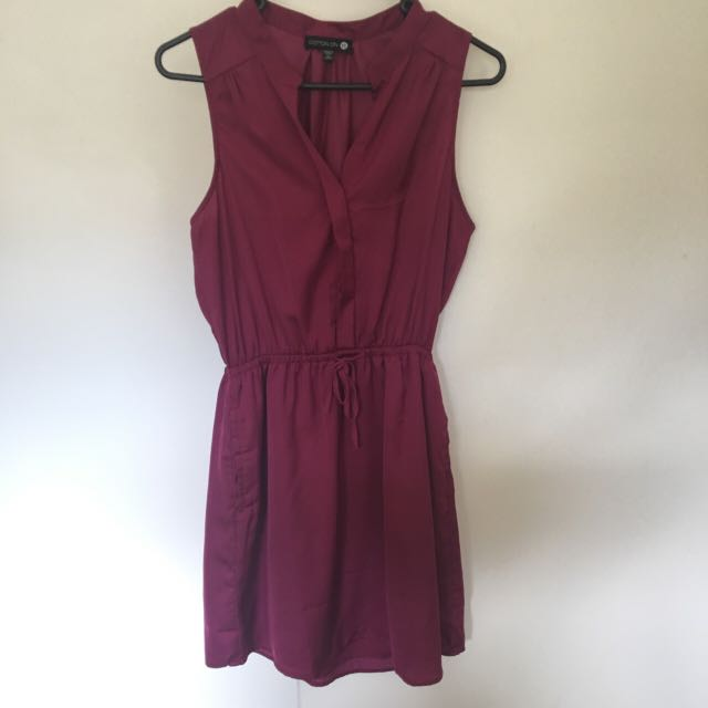 Sleeveless t-shirt style dress